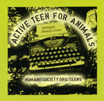 Active Teen For Animals